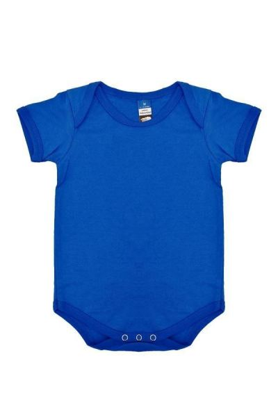 Basic Fully Combed Rompers (Royal Blue)