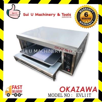 Okazawa EVL11T Industrial Electric Oven 1Layer 1Tray