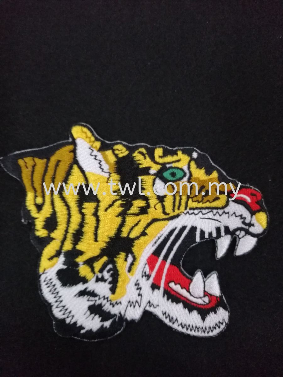 Sulam/Embroidery Patch Harimau