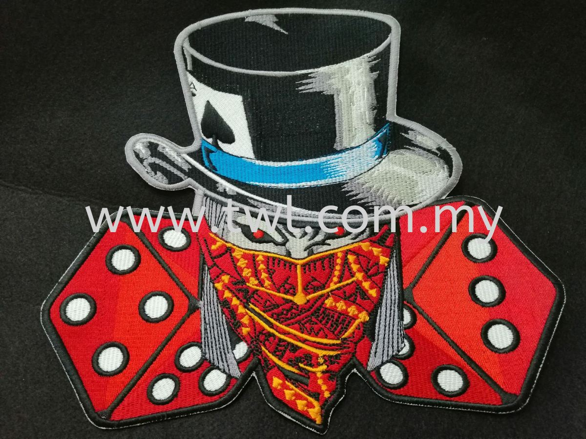 Sulam/Embroidery Patch Joker