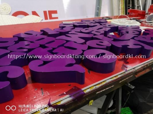 TNB 3D Led Eg Box up Backlit lettering Sigange at kuala Lumpur