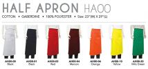 Half Apron (HA00) Custom Made Uniform/F1 Shirt