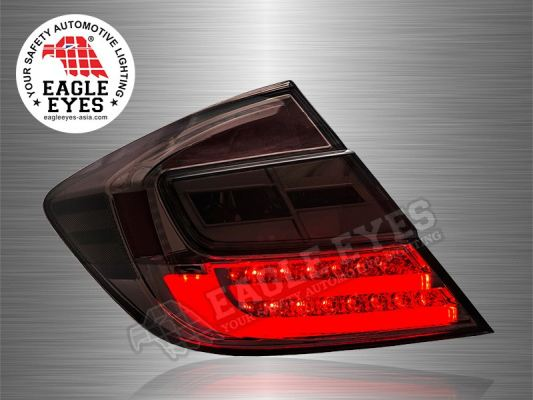Civic LED Light Bar Tail Lamp 12~15
