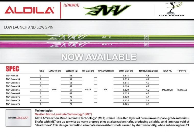 ALDILLA SHAFTS ONLINE WHOLESALE PURCHASING AT LOW UNBEATABLE PRICING!