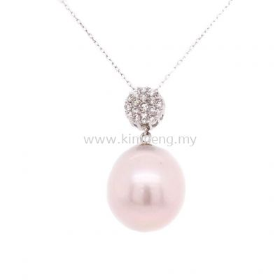 AKOYA PEARL WITH DIAMOND (12.0mm - 0.20 D)