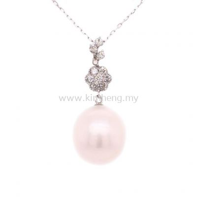 AKOYA PEARL WITH DIAMOND ( 11.5mm - 0.25 D)