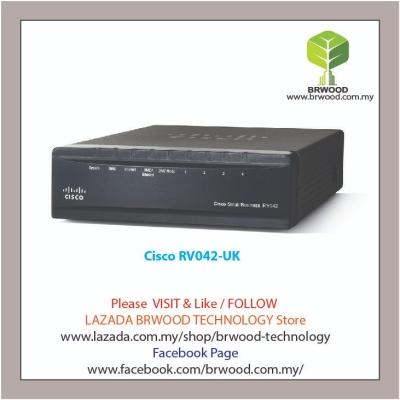 Cisco RV042G-UK: Gigabit Dual WAN VPN Router
