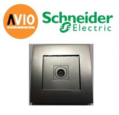 Schneider SCHKB31TV-AS Vivace 1 Gang TV Socket
