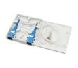2PORT/2CORE FIBER WALL SOCKET    Fiber To The Home (FTTH) Fiber Optic Components