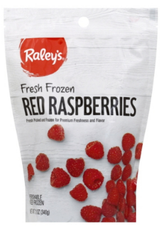 Raley's Red Raspberries