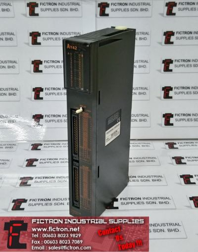 AY42 MITSUBISHI INPUT OUTPUT PLC REPAIR & Supply Malaysia Indonesia Singapore Vietnam US Portugal