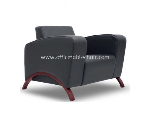 CLASSICO ONE SEATER SOFA C/W WOODEN BASE ACL 9955-1