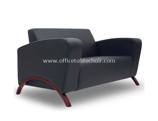 CLASSICO TWO SEATER SOFA C/W WOODEN BASE ACL 9955-2