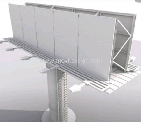 billboard model for view sample structure