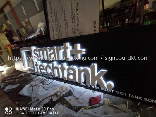 smart techtank 3D led box up backlit signage at sepang Kuala Lumpur