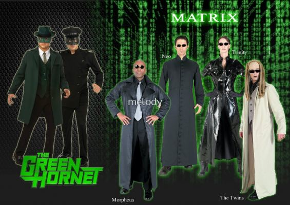 Movie Characters - Green Hornet \ Matrix