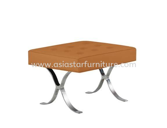 BARCELONA  SQUARE OFFICE BENCH CHAIR STOOL - Top 10 Best Design Office Sofa   office sofa Seksyen 13   office sofa Sea Park   office sofa Jaya One