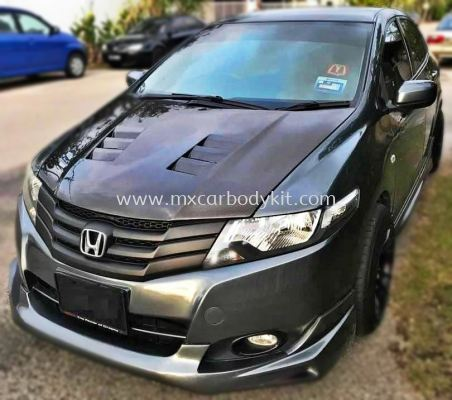 HONDA CITY 2009 - 2014 CARBON HOOD BONNET