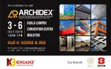 Please visit us on ARCHIDEX 2019