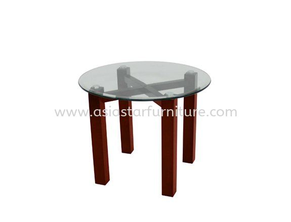 JONNE ROUND COFFEE TABLE C/W TEMPERED GLASS TABLE TOP  - Office Furniture Shop Coffee Table   Coffee Table Jaya One   Coffee Table Bukit Damansara   Coffee Table Ampang