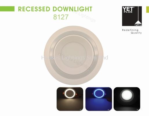 YET 8127 (12W+4W)/(18W+6W) (DL+WW)/(DL+BL) ROUND