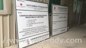 Lotte Chemical Titan (M) Sdn. Bhd. Project Sign Project Sign / Road Sign/Billboard