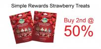 [Buy 2nd @ 50%] Oxbow Simple Rewards Strawberry Treats (0.5oz) - Expiry Date 02/20 Promotions