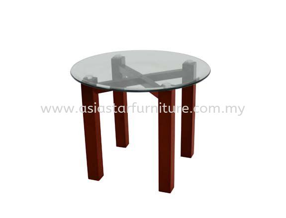 NEXIS ROUND COFFEE TABLE C/W TEMPERED - Promotion Coffee Table   coffee table Bandar Puteri Puchong   coffee table Taman Puchong Utama   coffee table Taman MedanGLASS TABLE TOP