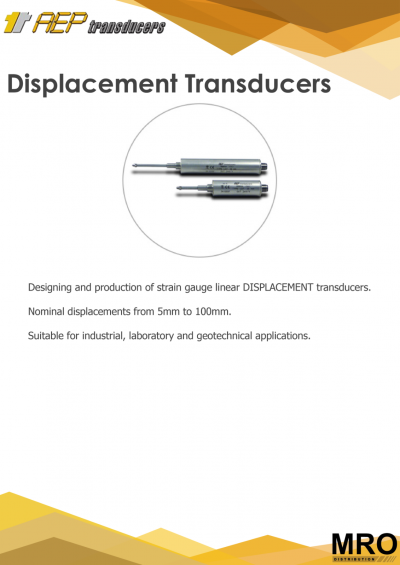 Displacement Transducers Intro