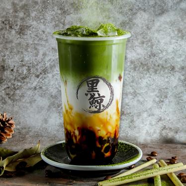 Brown Sugar Whaletball Shizuoka Matcha Latte