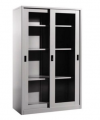 FULL HEIGHT CUPBOARD GLASS SLIDING DOOR A Steel Furniture Office Furniture