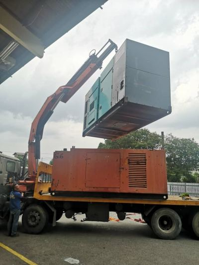 Begin supply genset rental X 2 units for factory maintenance shutdown at Tasek Industry Perak