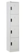 4 COMPARTMENT STEEL LOCKER A Steel Furniture Office Furniture