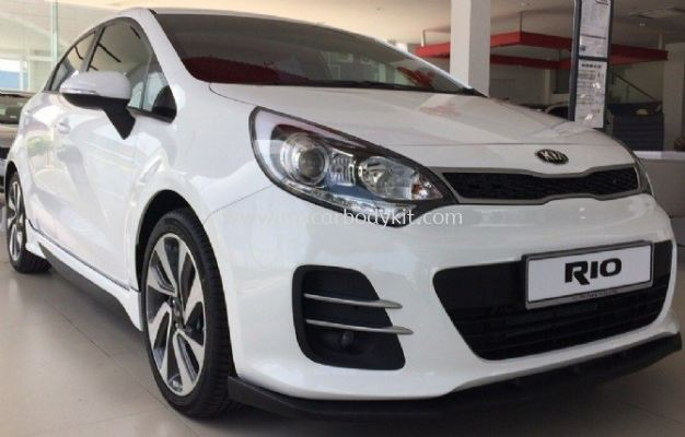 KIA RIO HATCHBACK 2015 OEM BODYKIT WITH SPOILER
