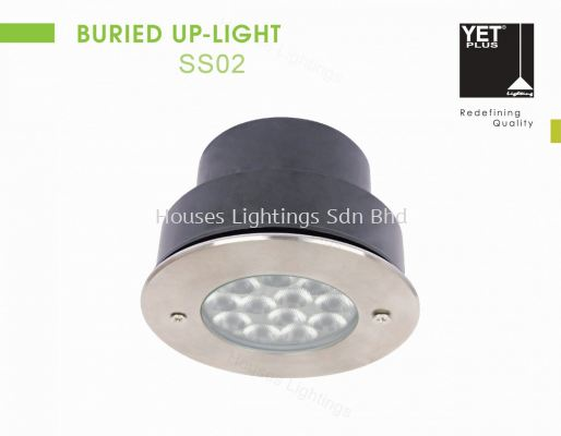 YET SS02 9W WW BURIED UP LIGHT
