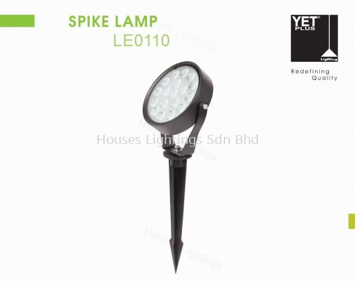YET LE0110 BK 9W 15W WW SPIKE LAMP