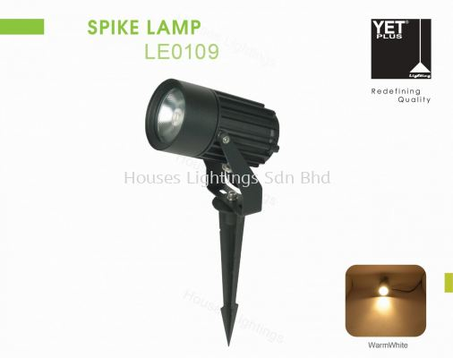 YET LE0109 BK 5W 12W 18W WW SPIKE LAMP