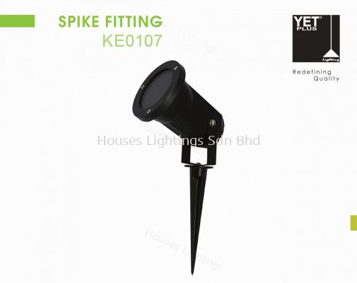 YET KE0107 BK SPIKE FITTING