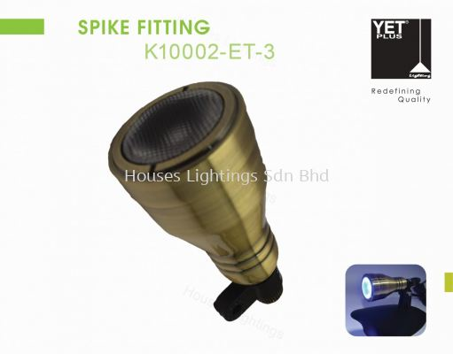 YET K10002-ET-3 3W RGB SPIKE LAMP