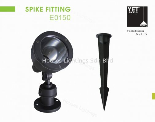 YET E0150 GY MR16 SPIKE FITTING