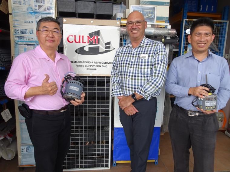 Mr. Malcolm Henri (Managing Director of Regal Beloit Malaysia S/B) Visit To Culmi On 29-5-19
