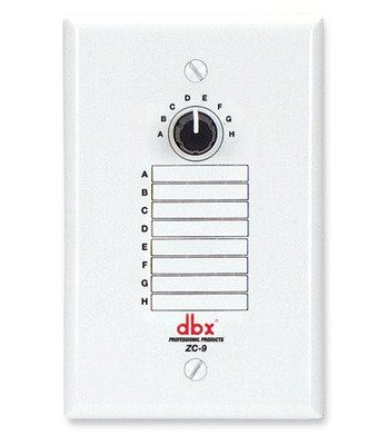 dbx ZC9 Wall-Mounted Zone Controller
