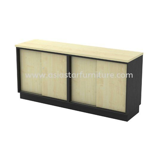 TITUS DUAL LOW OFFICE CABINET C/W DUAL SLIDING DOOR AT-YSS 7160