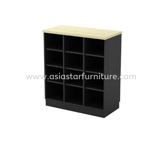 TITUS LOW OFFICE CABINET C/W PIGEON HOLE AT-YP 9