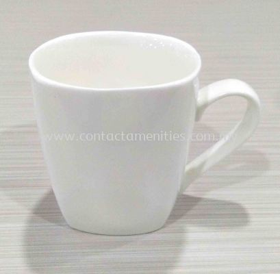 Square Porcelain Mug (290ml)