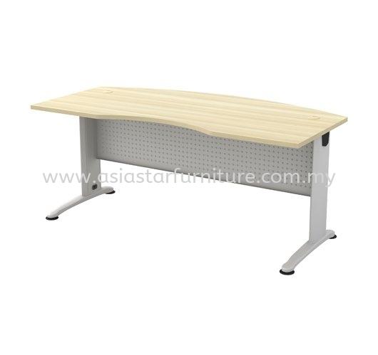 BERLIN EXECUTIVE OFFICE TABLE/DESK D-SHAPE CURVE ABMB 55 - Bandar Kinrara | Old Klang Road | Taman Desa | Kuchai Lama | Putra Jaya | Cyber Jaya