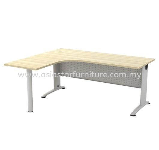 BERLIN L-SHAPE WRITING OFFICE TABLE/DESK - L-Shape Office Table Banting   L-Shape Office Table KL-Kuala Lumpur-Malaysia   L-Shape Office Table PJ-Damansara-Selangor-Malaysia   L-Shape Office Table Taman OUG