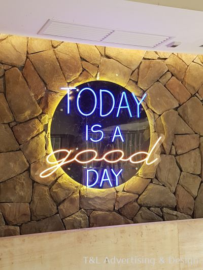 Today is a good day LED Neon Light (Multi Color)