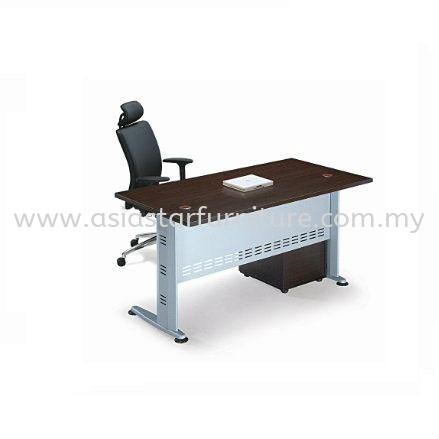 QAMAR OFFICE TABLE WITH MOBILE PEDESTAL 3D - office table set Promotion Offer | office table set Cheras | office table set Ampang | office table set AU2 Setia Wangsa