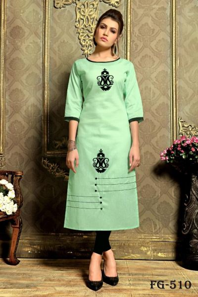 YONA FASHION KHADI COTTON KURTI